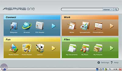 Linux Linspire Desktop